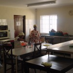 A view of the new kitchen