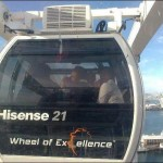 "HBC Carers on the ""Wheel of Excellence"", Waterfront, Cape Town"