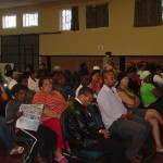 Some of the more than 75 parents who attended the PTA at the Community Hall