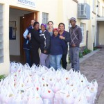 MANDELA DAY - 67 FOOD PARCELS X 2  - IN 67 MINUTES!!! 002