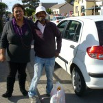 MANDELA DAY - 67 FOOD PARCELS X 2  - IN 67 MINUTES!!! 037