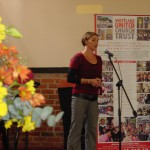 natalie Meagre enthralled the crowd